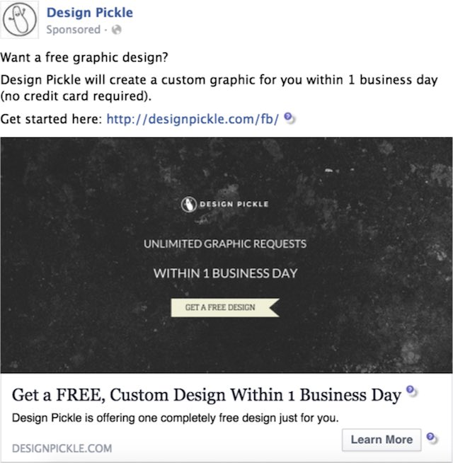 Facebook Ads - Design Pickle